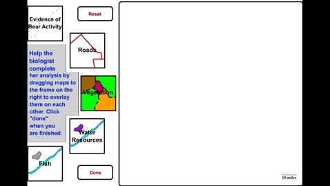 Thumbnail for entry GIS Simulation of Bear Actvity