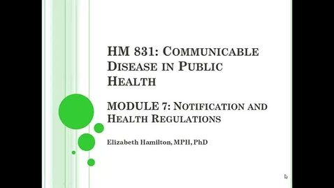 Thumbnail for entry Module 7_health regs