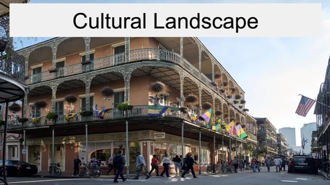 Thumbnail for entry GEO330: Coastal South: Cultural Landscape