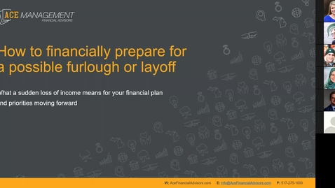 Thumbnail for entry How to financially prepare for a possible furlough or layoff