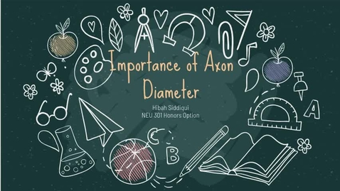 Thumbnail for entry Importance of Axon Diameter