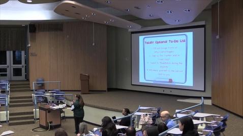 Thumbnail for entry COETC15 Keynote Speaker: Sarah Thomas