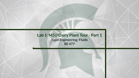 Thumbnail for entry Lab 1: Plant Tour - Part 1