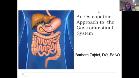Thumbnail for entry OMM513 An Osteopathic Approach to the Gastrointestinal System