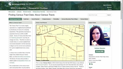 Thumbnail for entry Finding 1980 Census Tract Data