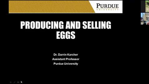 Thumbnail for entry Producing and Selling Eggs  May 8 2017