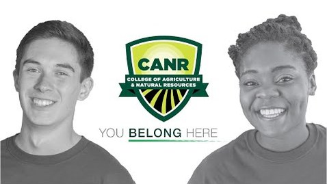 Thumbnail for entry College of Agriculture & Natural Resources - You Belong Here!