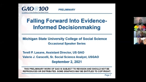 Thumbnail for entry Falling Forward into Evidence-Informed Decision Making