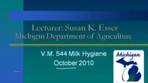 Thumbnail for entry VM_544_10192010_MSU_Milk_Hygiene__Esser_