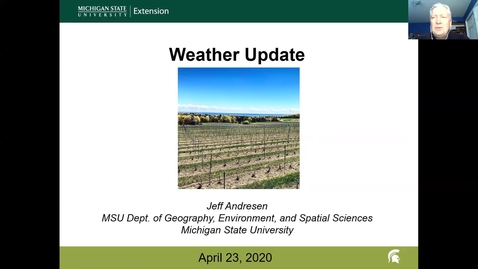 Thumbnail for entry Grape Kickoff 2020 - Weather Update
