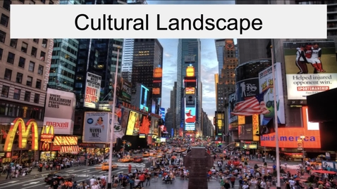 Thumbnail for entry GEO330: New England: Cultural Landscape