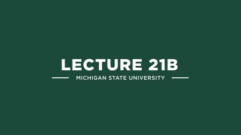Thumbnail for entry ECE 851 Lecture 21b
