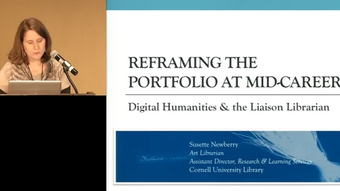 Thumbnail for entry Doing Digital Art History: Redefining Art Librarianship