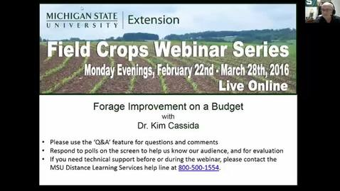 Thumbnail for entry Forage Improvement on a Budget