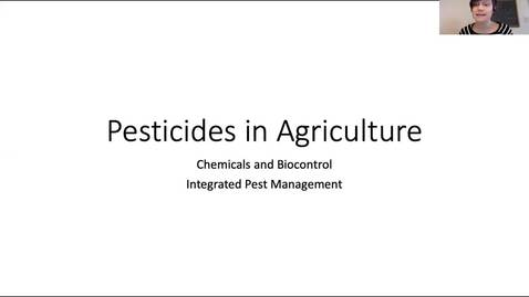 Thumbnail for entry Pesticides Lecture CSS 124 S'20