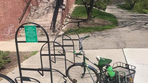 Thumbnail for entry Locking your bike right on the MSU campus - Pt 1