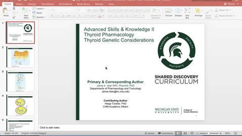 Thumbnail for entry LCE-ASKII-Resource-Presession-Endocrine-thyroid Pharm Genetics-Alan_Toriello