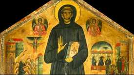 Thumbnail for entry Bonaventura Berlinghieri, Saint Francis Altarpiece, c. 1235