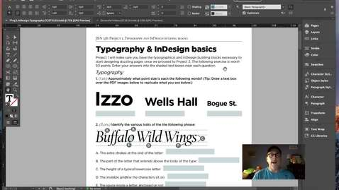 Thumbnail for entry InDesign and Typography Fundamentals.Vol.1