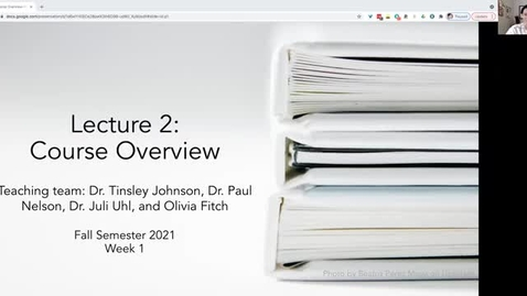 Thumbnail for entry FS21 Lecture 2-Part 1: Course overview