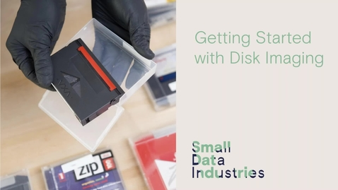 Thumbnail for entry NDSR Art Webinar: Getting Started with Disk Imaging