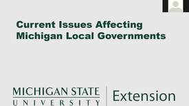 Thumbnail for entry Current Issues Affecting Michigan Local Governments: Expanding Broadband Access