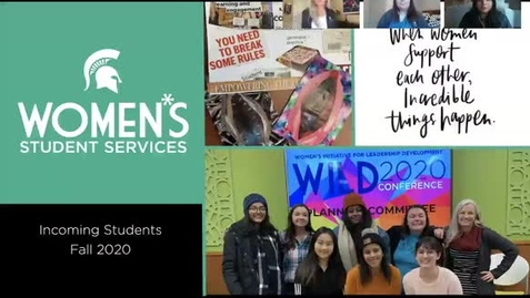 Thumbnail for entry Women*s Student Services UGS 100 Module