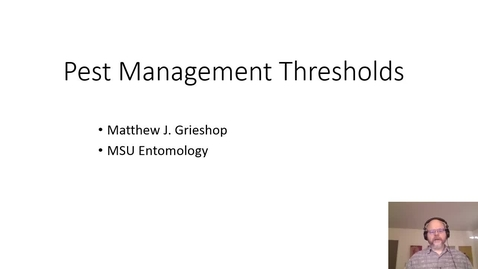 Thumbnail for entry 2021 Pest Management Thresholds