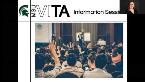 Thumbnail for entry MSU VITA: Information Session