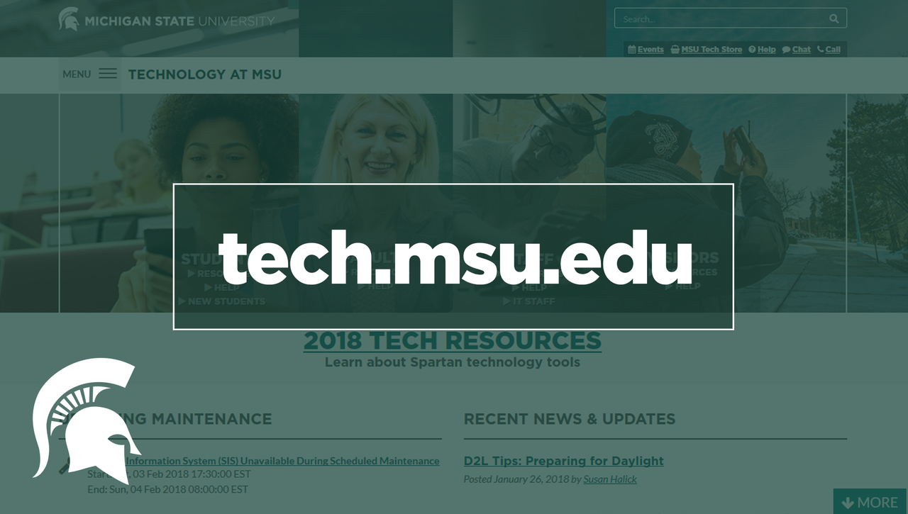 IT Resources on Tech.msu.edu