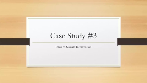 Thumbnail for entry Case Study 3 - Carmen