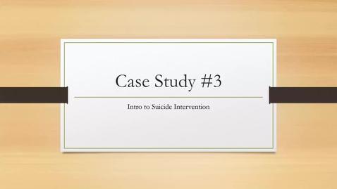 Thumbnail for entry Case Study 3 - Carmen