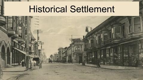 Thumbnail for entry GEO330: Megalopolis: Historical Settlement