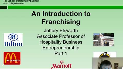 Thumbnail for entry HB 358 Franchising Part 1