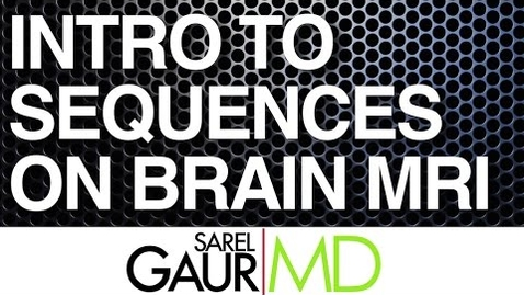 Thumbnail for entry VM 571-Introduction to Sequences on Brain MRI