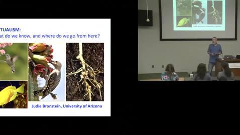 Thumbnail for entry Judith Bronstein - University of Arizona