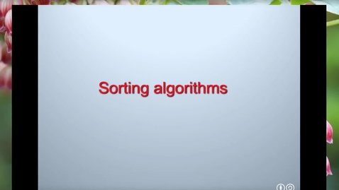 Thumbnail for entry Python_Lect11_SearchingSorting