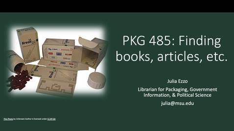 Thumbnail for entry PKG485LibraryResearch