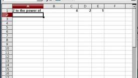 Thumbnail for entry Base 2 Calculator in a Spreadsheet