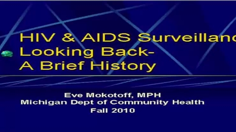 Thumbnail for entry HM852MokotoffHIVandAIDSSurveillance