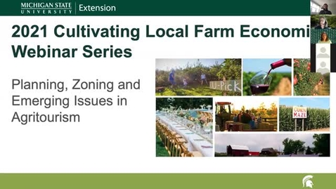 Thumbnail for entry CLFE Session 3 - Agritourism and Value Added Processing.mp4