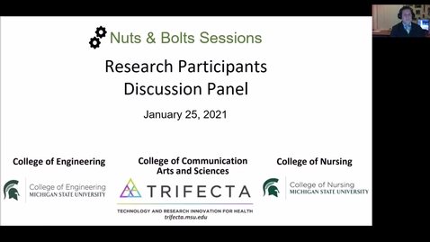 Thumbnail for entry Trifecta Initiative - Participants Panel Discussion - 2021-01-25