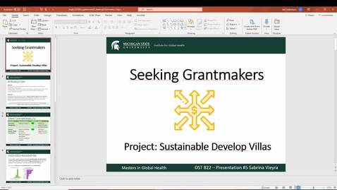 Thumbnail for entry VIEYRA_OST822_Seeking Grantmakers_2020-11-22 18-46-44