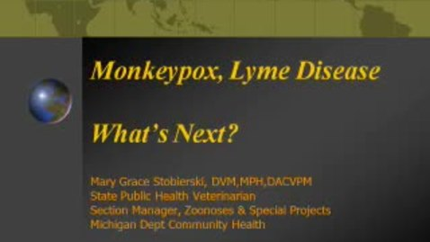 Thumbnail for entry VM_544_09092010_Lyme_Disease__Stobierski