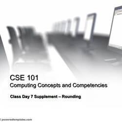 Thumbnail for channel CSE 101