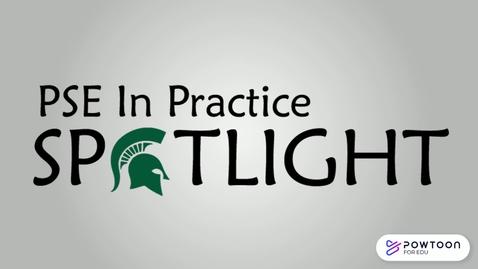 Thumbnail for entry PSE in Practice Spotlight: Vicki Ballas