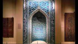 Thumbnail for entry Ilkhanid Mihrab, 1354-55, Isfahan, Iran (Metropolitan Museum of Art, New York)