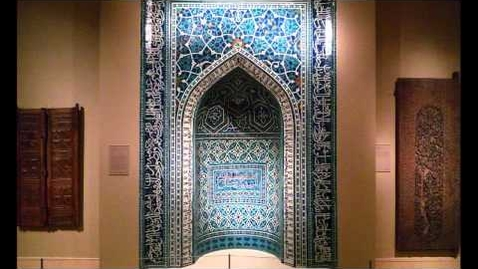 Thumbnail for entry Ilkhanid Mihrab, 1354-55, Isfahan, Iran (Metropolitan Museum of Art, New York)