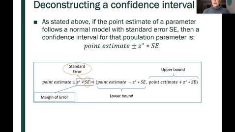 Thumbnail for entry STT 200 One Proportion Confidence Intervals, Part 4