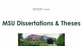 Thumbnail for entry Find MSU Dissertations/Theses
